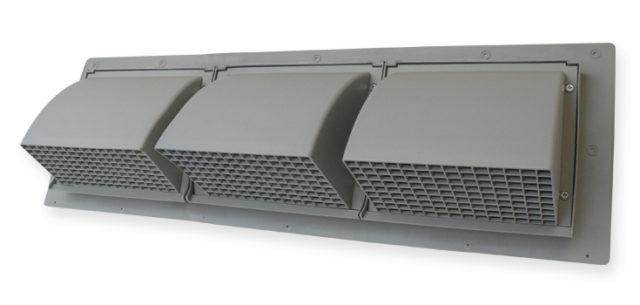 triple wall cap intake HVAC venting
