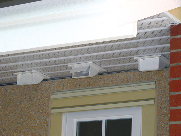Choosing The Right Vent Cap For A Soffit Primex Hvac Venting